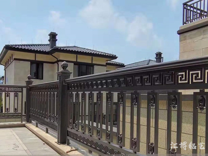 廊坊石家庄铝艺铝合金阳台栏杆护栏室内室外厂家